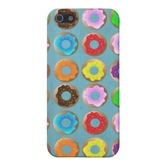 Blue Donut Lot Case For iPhone SE/5/5s