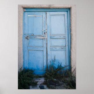 Blue Door 1 Poster