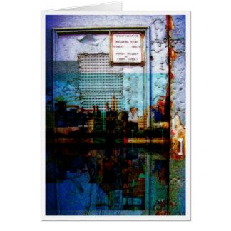 blue door city card