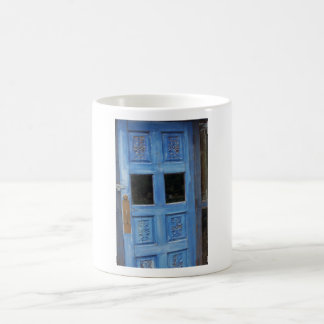Blue Door Coffee Mug
