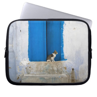Blue door, Kairouan, Tunisia, Africa Computer Sleeve