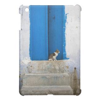 Blue door, Kairouan, Tunisia, Africa Cover For The iPad Mini