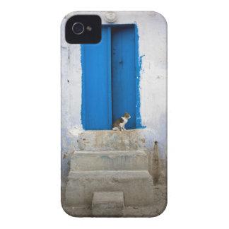 Blue door, Kairouan, Tunisia, Africa iPhone 4 Case