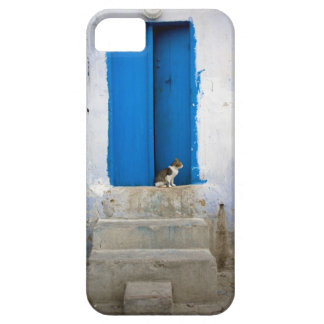 Blue door, Kairouan, Tunisia, Africa iPhone SE/5/5s Case