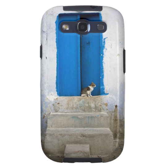 Blue door, Kairouan, Tunisia, Africa Samsung Galaxy S3 Case