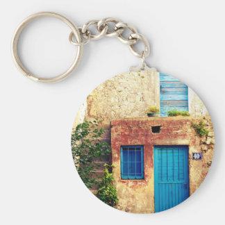 Blue-doors-321 Keychains