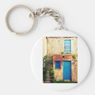 Blue-doors-321 Key Chains