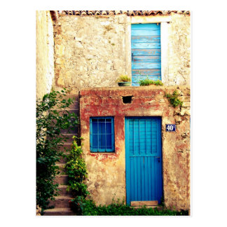 Blue-doors-321 Tarjetas Postales