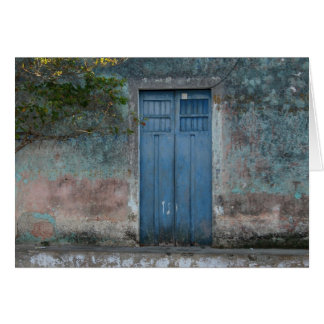 blue doors card