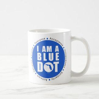 Blue Dot Florida Coffee Mug