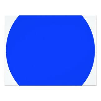 "Blue Dot 4.25"" X 5.5"" Invitation Card"
