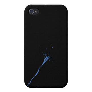 blue dot iPhone 4 cover