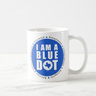 Blue Dot Texas Coffee Mug