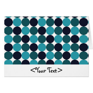 Blue Dots Card
