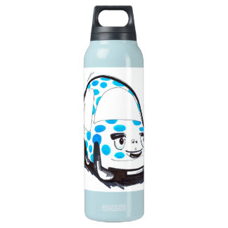 Blue Dots Character Car Liberty Insulated Water Bottle