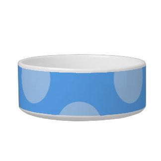 Blue Dots Pattern. Bowl