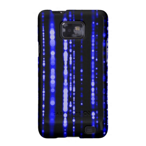 Blue Dots Samsung Galaxy SII Cover