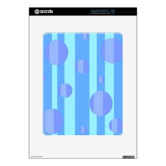 Blue Dots iPad Decals