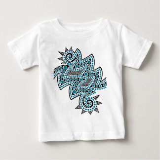 Blue Double Spike Baby T-Shirt