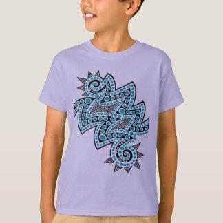 Blue Double Spike T-Shirt