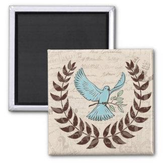 Blue Dove Peace Magnet