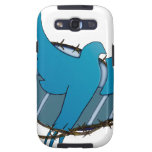 Blue dove w/ crown of thorns samsung galaxy s3 cover