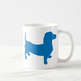 Blue Doxie, Dachshund Coffee Mug