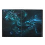 blue dragon abstract iPad air cover