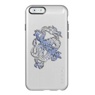 Blue Dragon Chrome like Carbon Fiber flames Incipio Feather Shine iPhone 6 Case