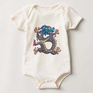 Blue Dragon Claw Baby Bodysuit
