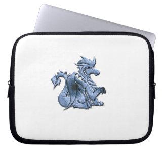 Blue Dragon  Electronics Bag Laptop Computer Sleeve