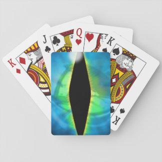 Blue Dragon Eye Card Deck