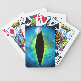 Blue Dragon Eye Bicycle Poker Cards
