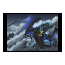 """Blue Dragon - """"Fly By Night"""" Poster"""