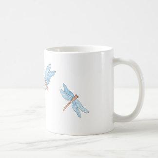 Blue Dragon Fly Coffee Mug