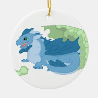 Blue Dragon Hatchling Ornament