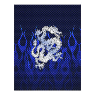Blue Dragon in Chrome Carbon Fiber Styles Flyer