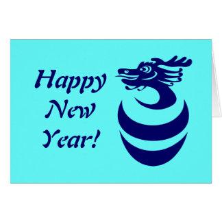 Blue Dragon in Egg Custom Card