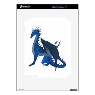 Blue Dragon iPad 2 Decal