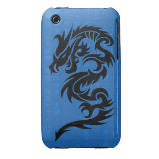 Blue Dragon iPhone 3G/3GS Case-Mate Barely There™ iPhone 3 Case