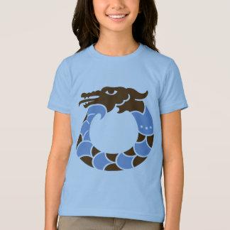 Blue Dragon Kids Ringer T-shirt
