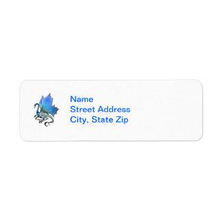 Blue Dragon Label