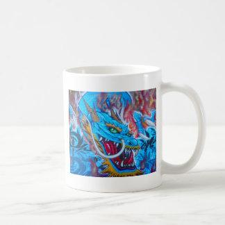 Blue Dragon Basic White Mug