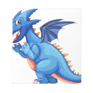 Blue dragon note pads