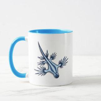 Blue Dragon Nudibranch Mug