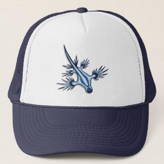 Blue Dragon Nudibranch Trucker Hat