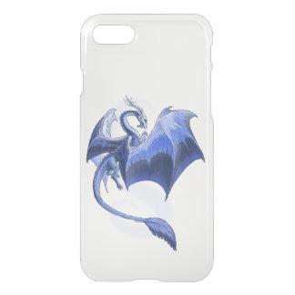 Blue Dragon of Winter Fantasy Art iPhone 7 Case