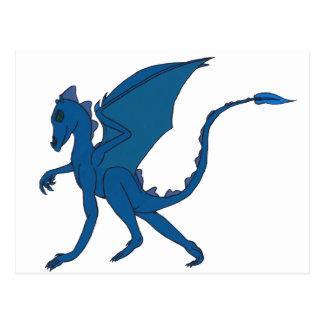 Blue Dragon Postcard by IDC