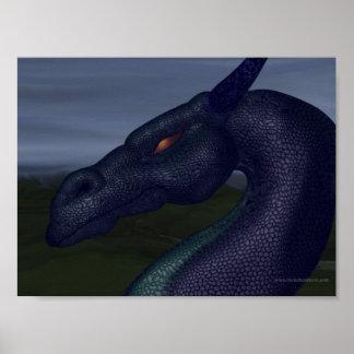 blue-dragon poster