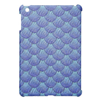 Blue Dragon Scales  Cover For The iPad Mini